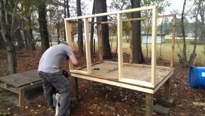 Goat House Frame