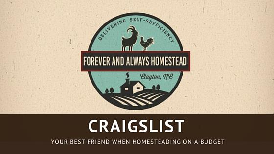 Homestead with craigslist
